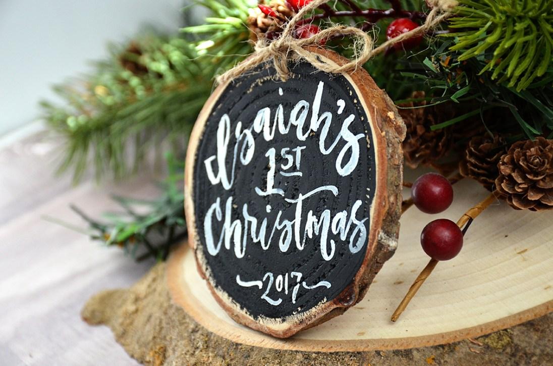 Sam Allen Creates - First Christmas Tree Ornament
