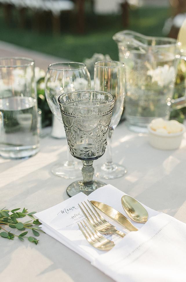 Sam Allen Creates- Watercolor Wedding Reception Menus – Torrey Fox Photography