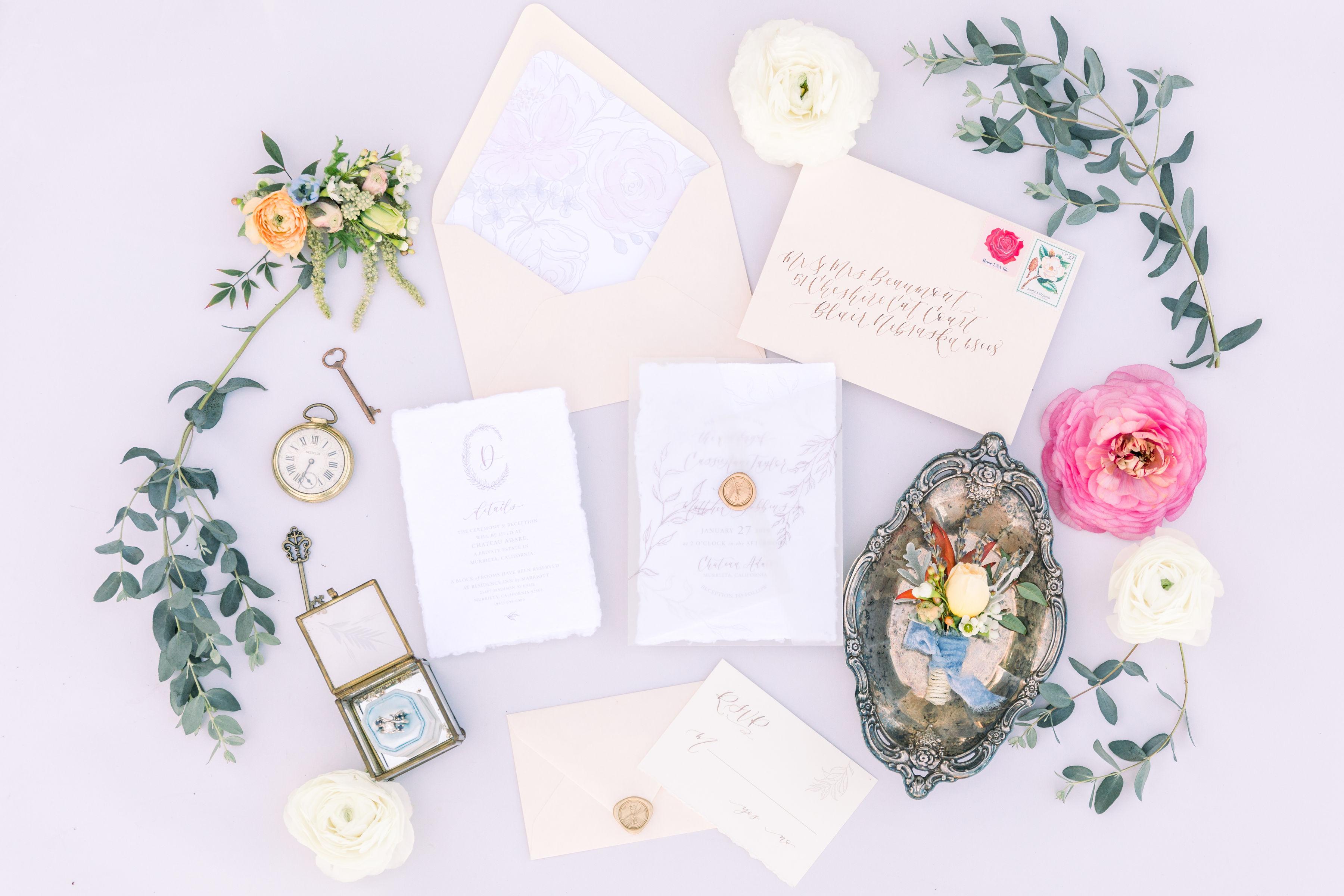 StephanieWeberPhotography-Alice-in-Wonderland-garden-wedding-invitation
