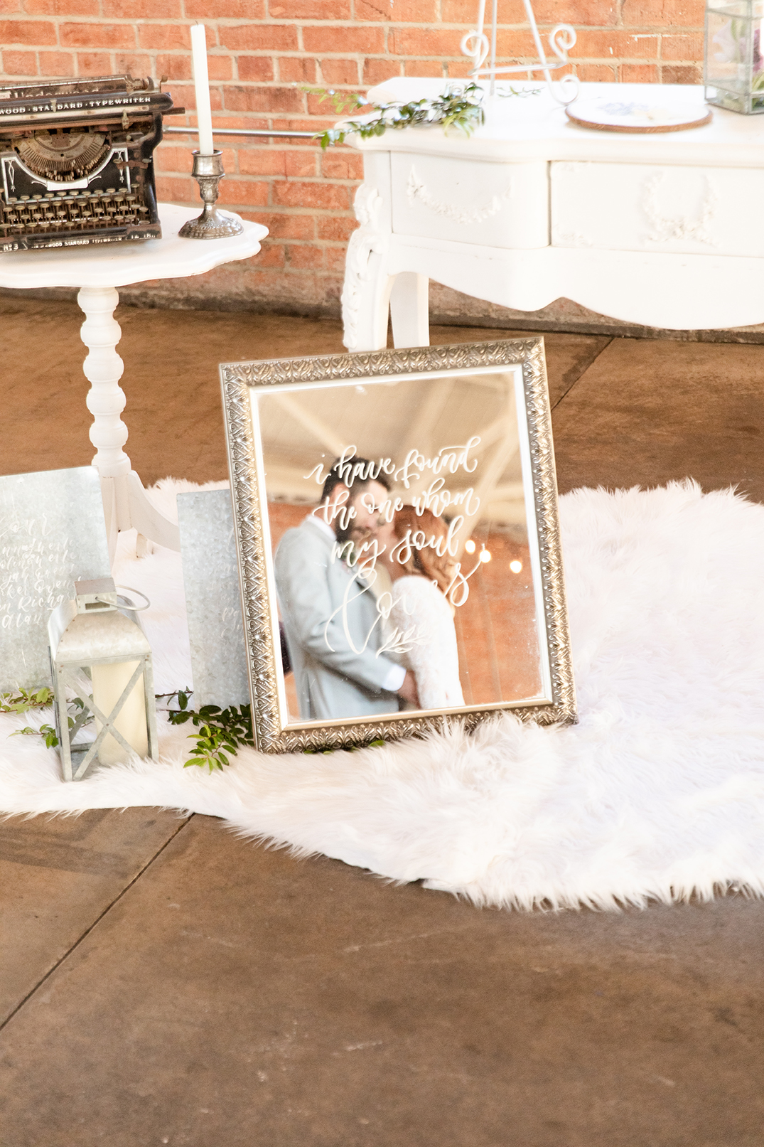 Welcome Table, Mirror Calligraphy by Sam Allen Creates 2 – StormyPetersonPhotos