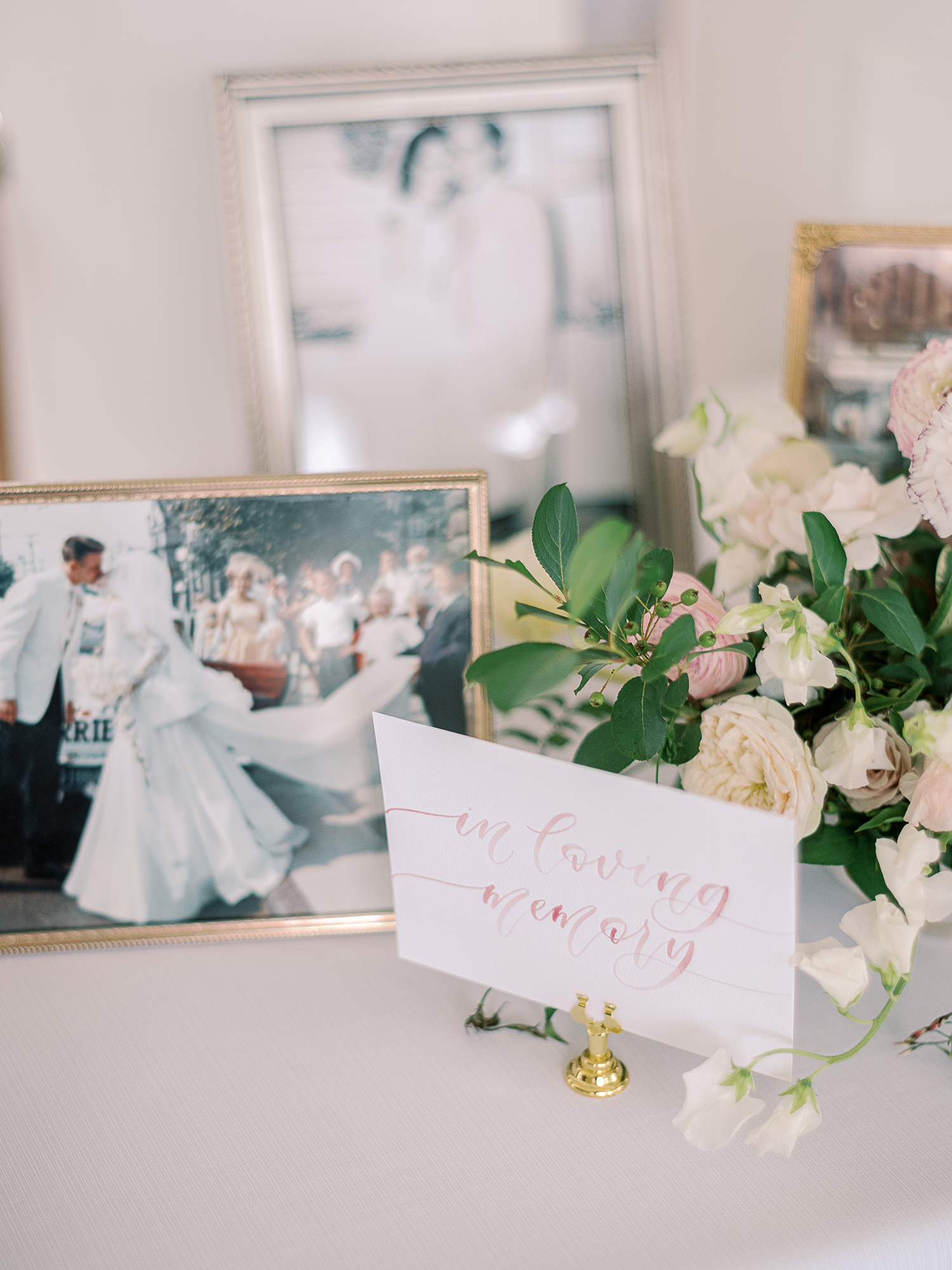Sam Allen Creates – Watercolor In Loving Memory Memorial Sign – Clary Pfeiffer Photography