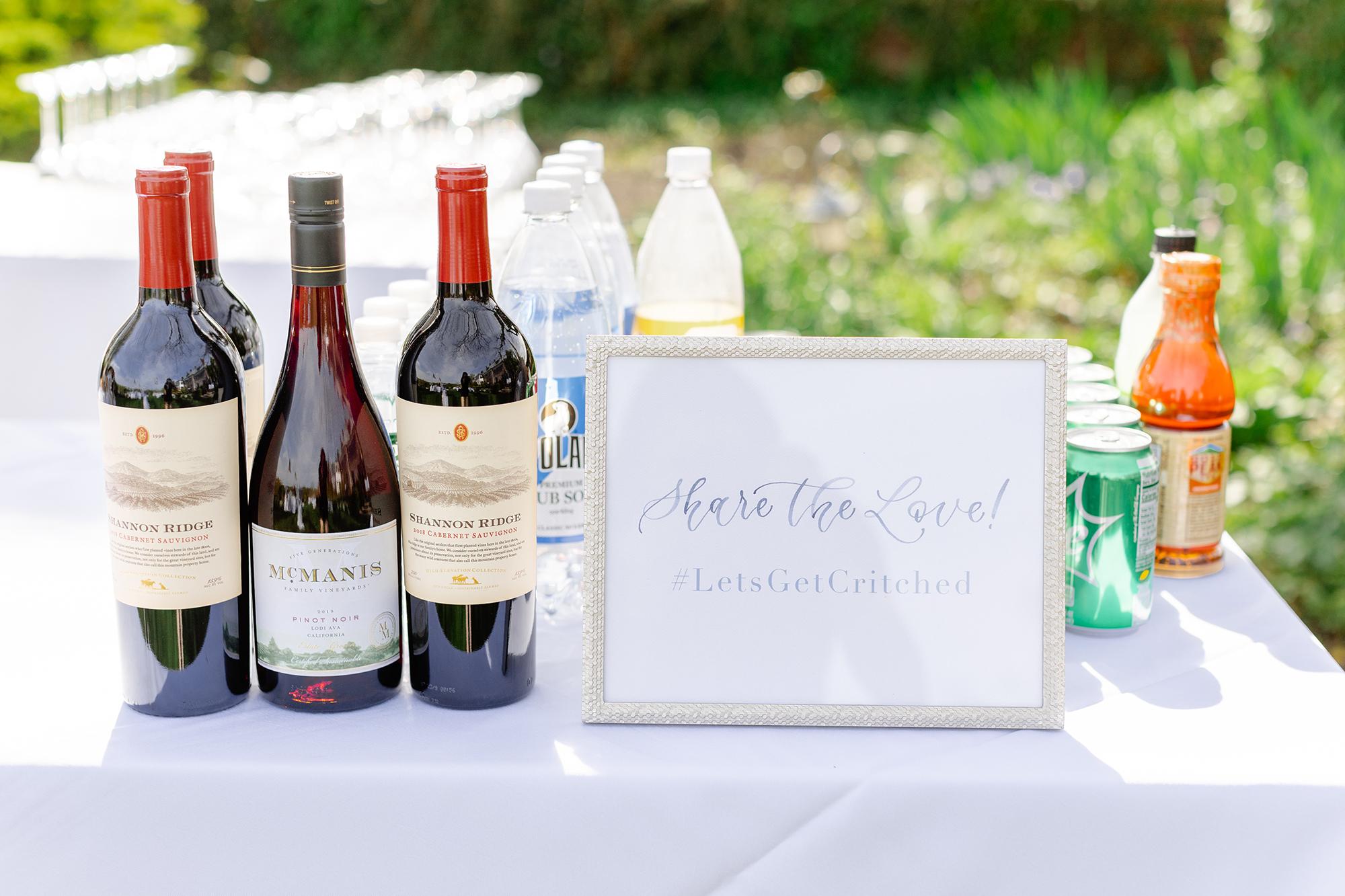 Sam Allen Creates Watercolor Share the Love Hashtag Wedding Sign Katie+Mark-Wedding-532 Lauren Kearns Photography