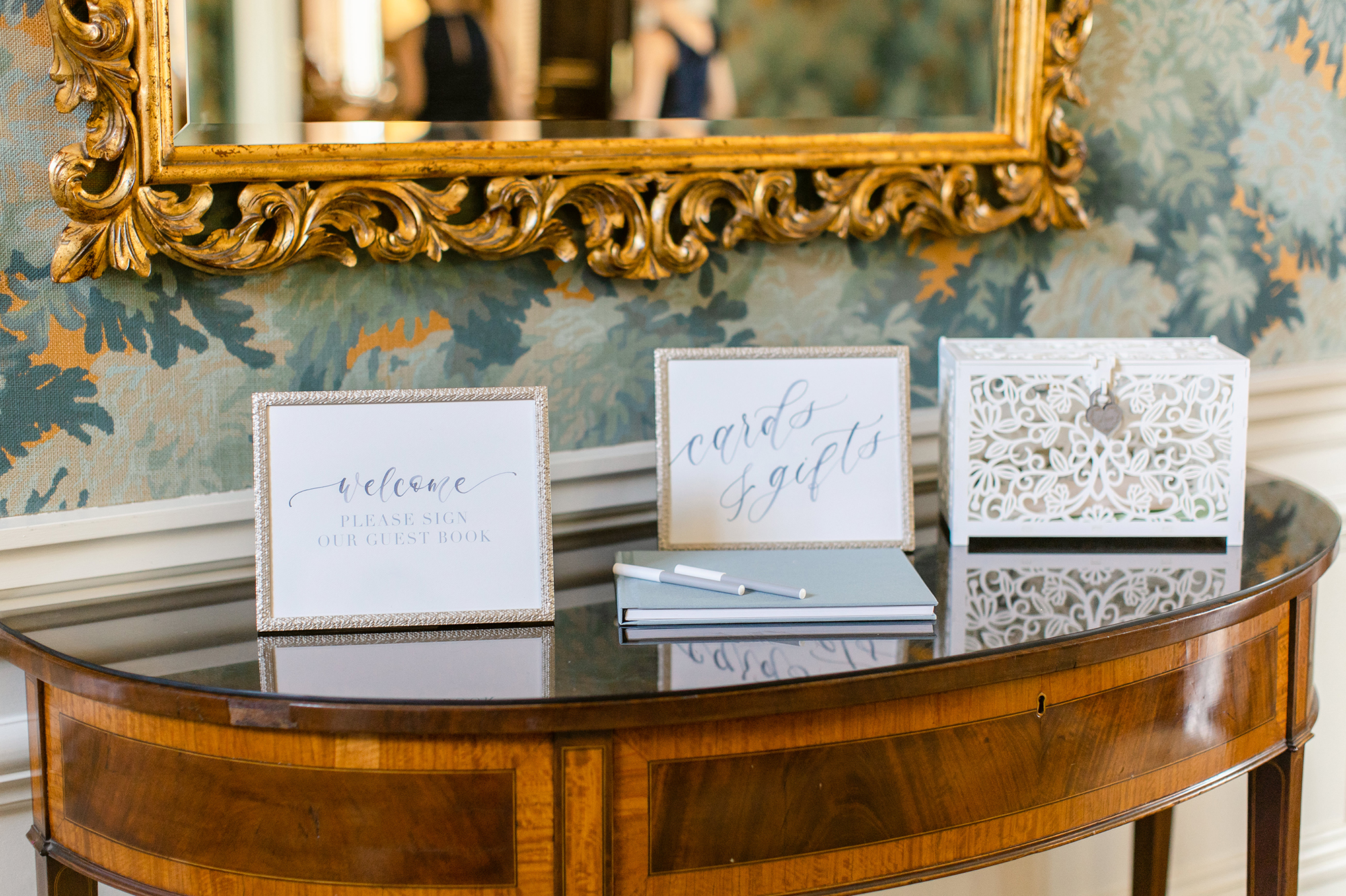Sam Allen Creates Welcome and Cards and Gift Signs – Katie+Mark-Wedding-Lauren Kearns Photography