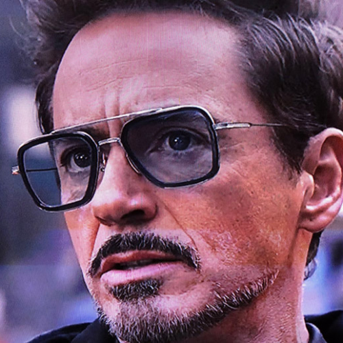 Tony Stark (Iron Man) Blue Shades by Sam & Marshall