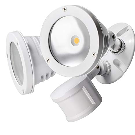 Security lights installation