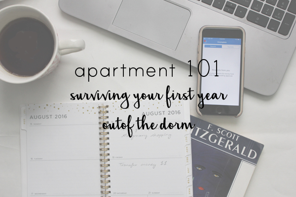 Samanthability - First Apartment 101: Surviving Your First Year ...