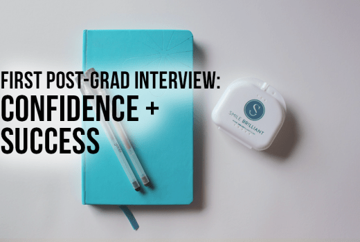 first post-grad interview
