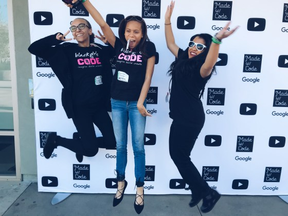 Black Girls Code  at Youtube Headquarters
