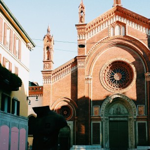A church in Milan