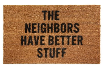 Better Stuff Doormat - Uncommon Goods