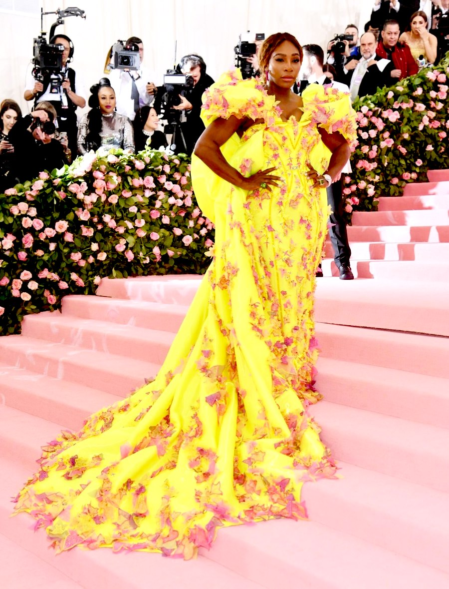 Met Gala Serena Willianms