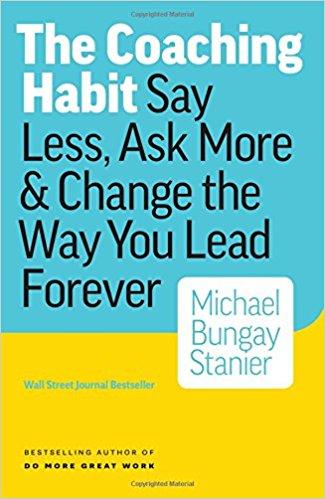 The Coaching habit book
