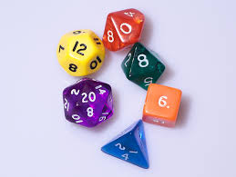 Roleplay dice