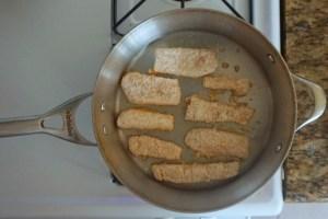 gluten free healthy dinner fish chips