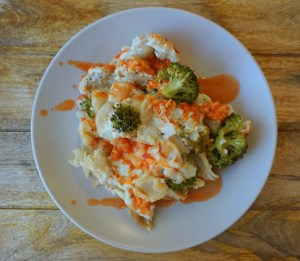 healthy buffalo chicken gluten free dairy free