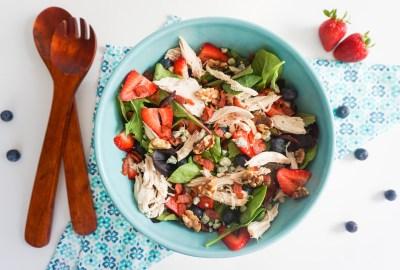 samantha elaine chicken salad healthy gluten free light summer