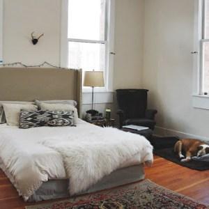 boho style apartment tour