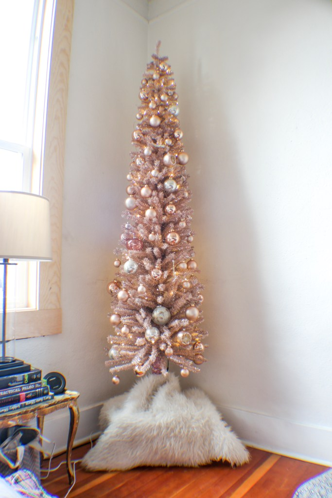 rose gold christmas tree - Gold Christmas Tree