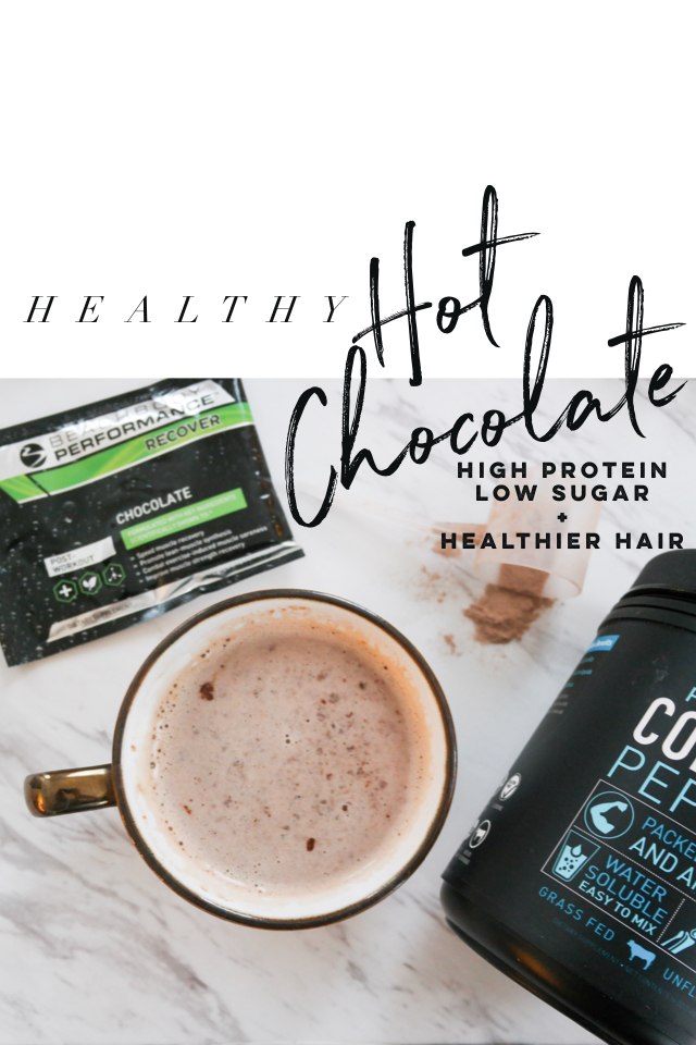 Healthy Hot Chocolate With 30 Grams Of Protein