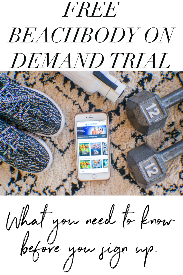 Beachbody On Demand Trial
