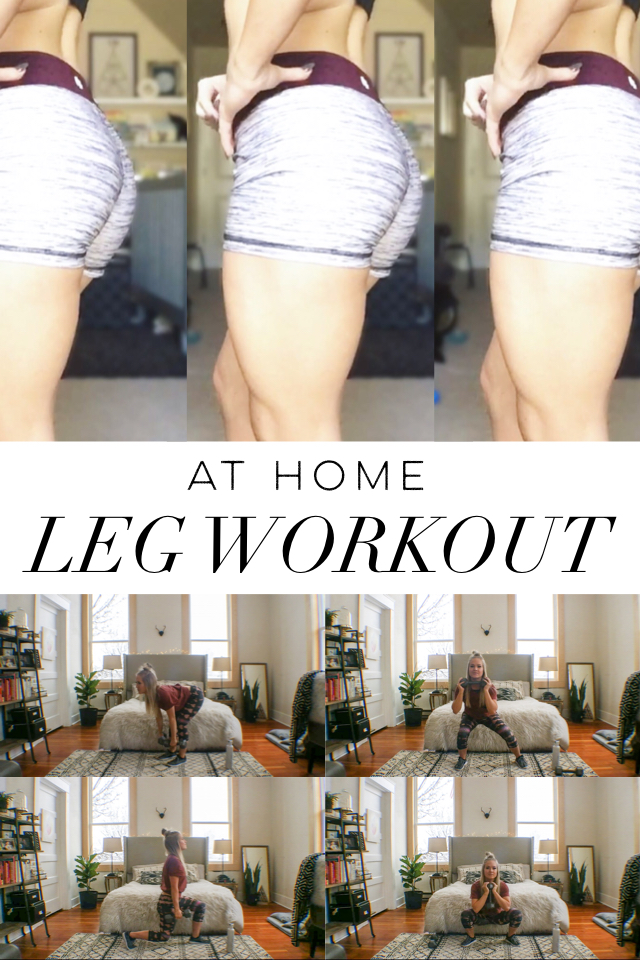 At Home Leg Workout – Tone Your Legs Fast!