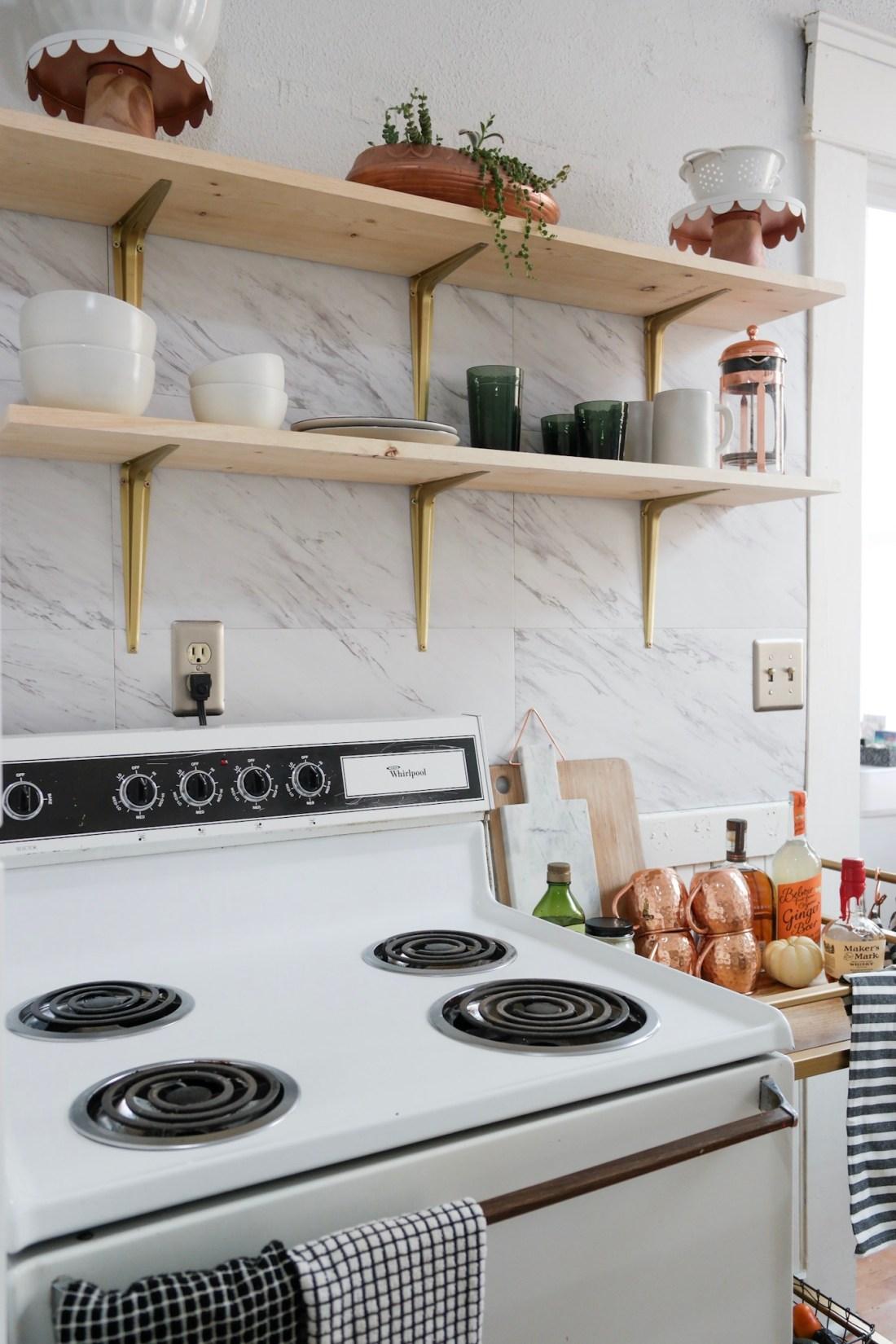 Small Kitchen Remodel - Samantha Hauger