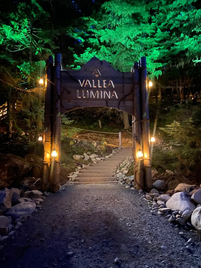 Vallea Lumina in Whistler