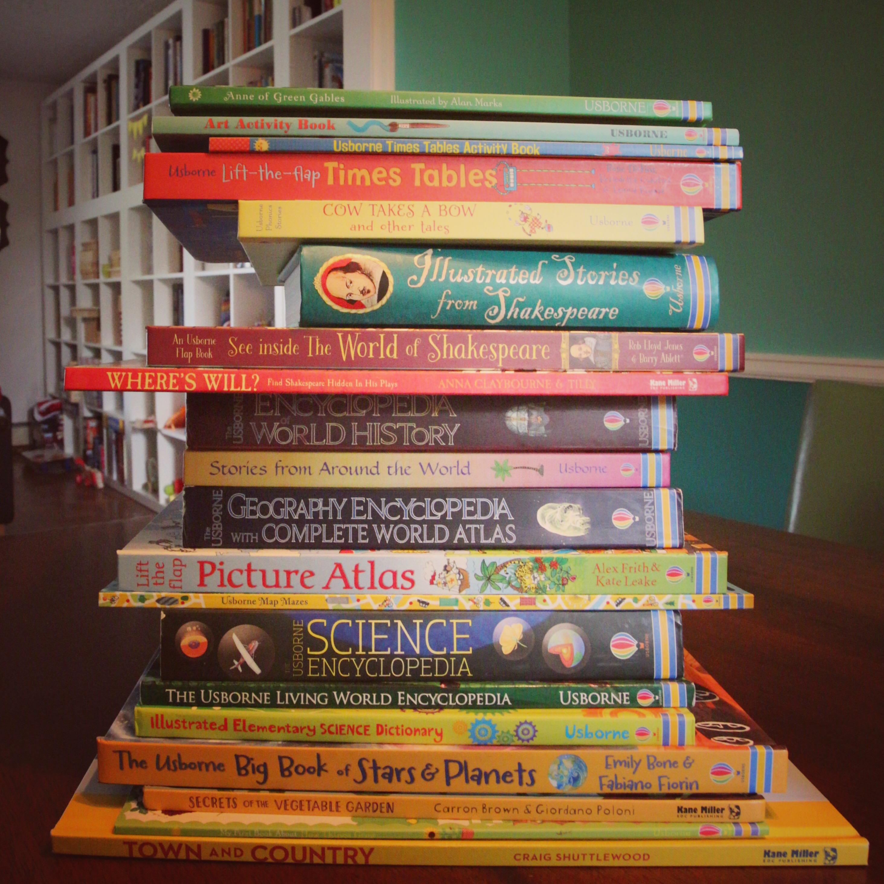 Raising Litterateurs {aka… my kids LOVE books!}