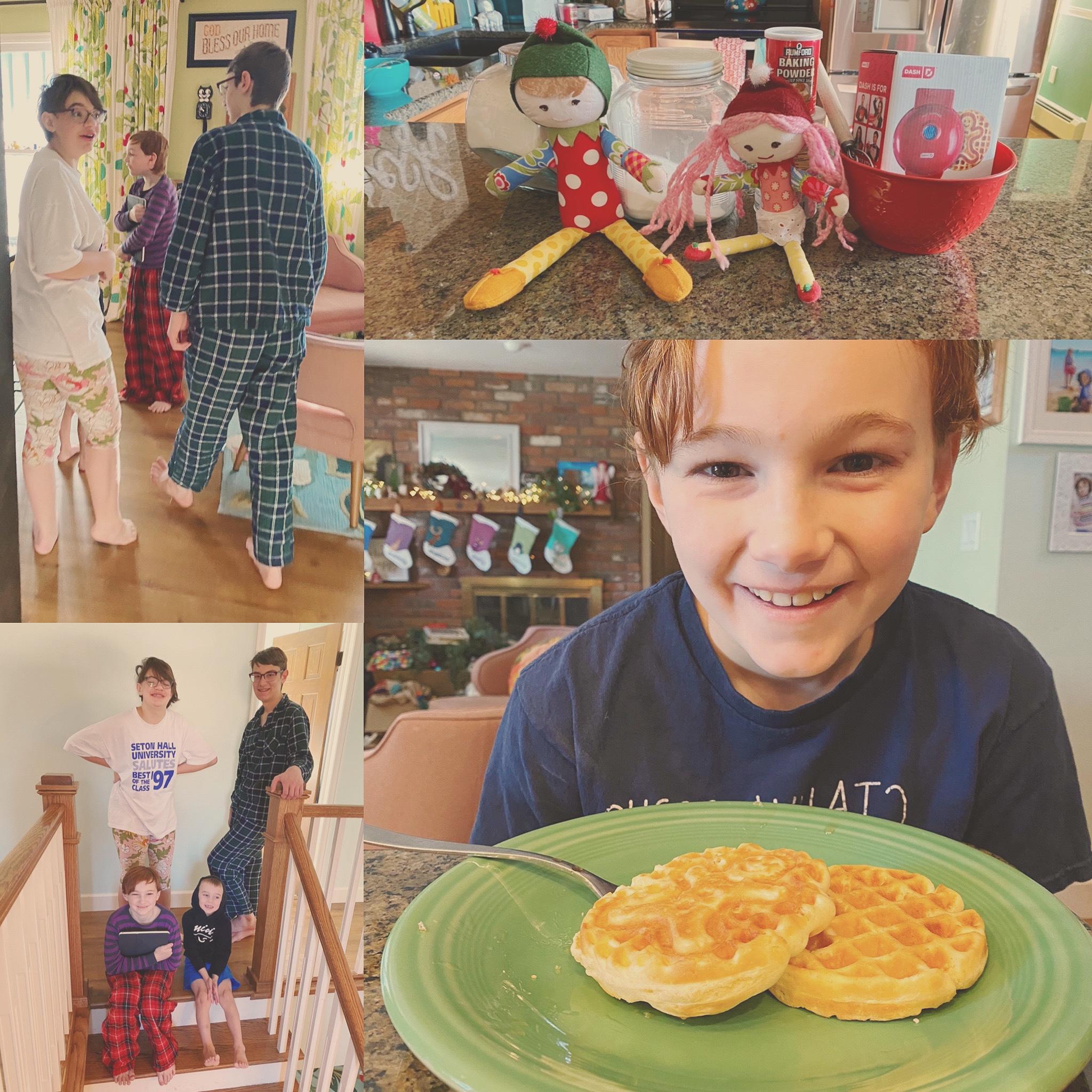 {Day 3} Elf Waffles