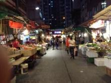 Fruit and Veggie Market, Hong Kong
