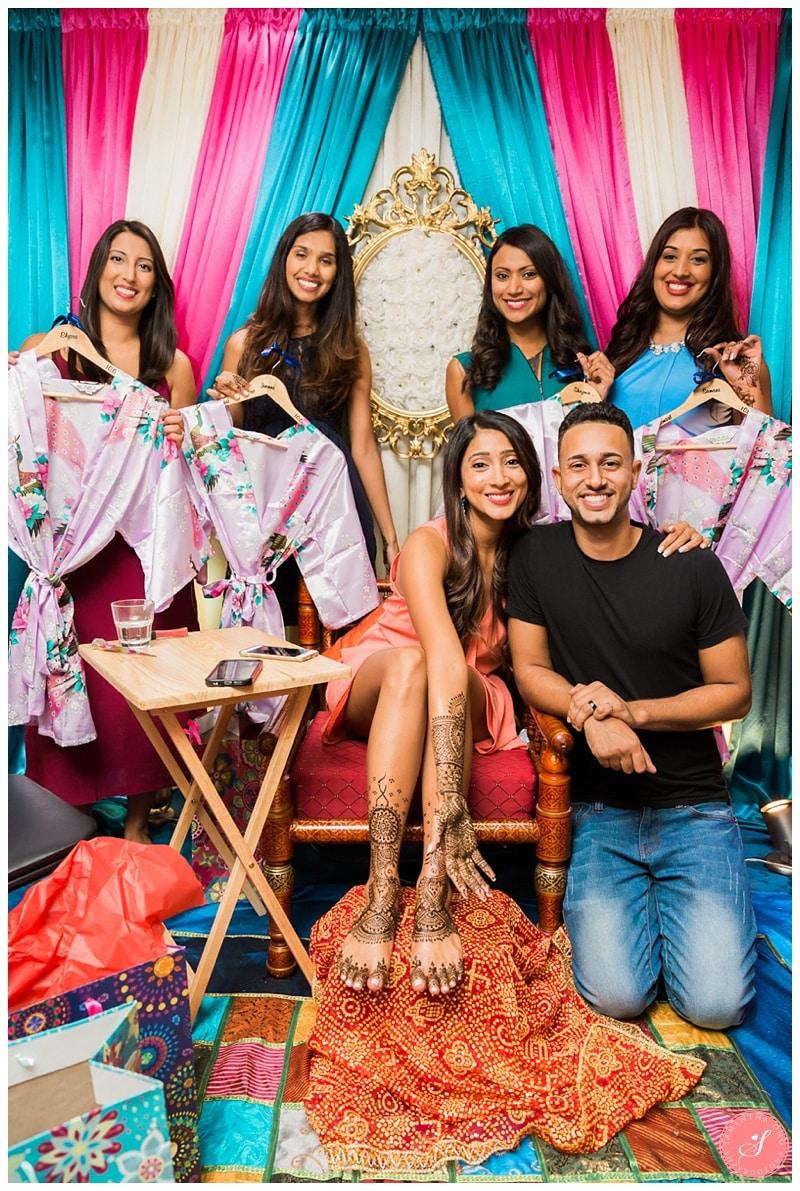 Toronto Ismaili Mehndi Party PreCeremony Wedding Photos