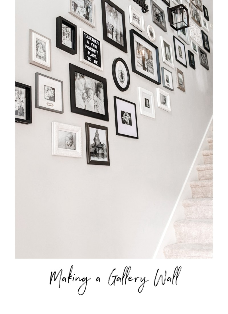 The Quick and Easy Way to Hang a Gallery Wall
