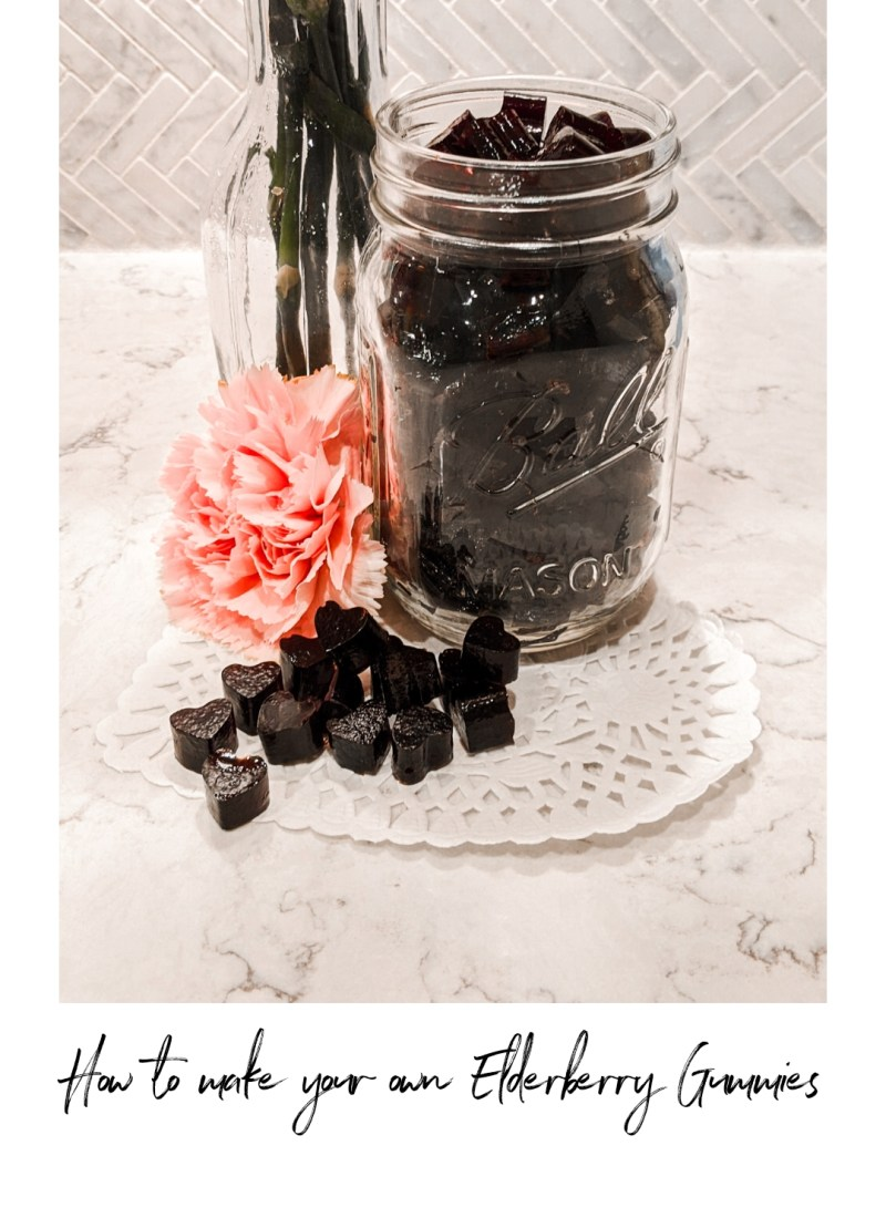 How to Make Your Own Elderberry Gummies