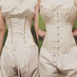 ...All the way to a corset!