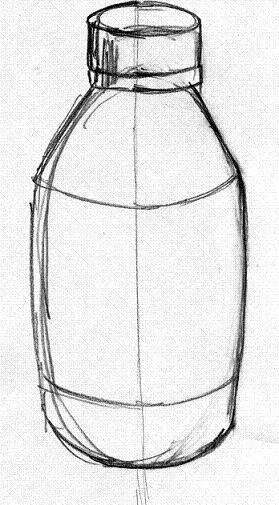 drawing objects symmetrical symmetry easy object drawings line center erase finally cizim starts kaynak samanthasbell simple