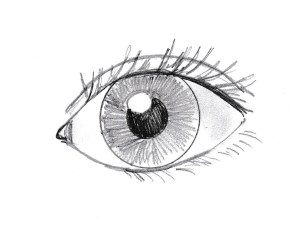 eye draw drawing simple step steps tweet email samanthasbell