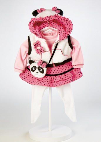 Panda Fun Outfit