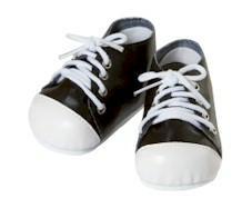 Bl/Wh Tennis Shoes