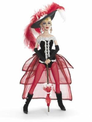 1962 Moulin Rouge Dancer by madame alexander