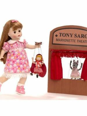 Wendy with Tony Sarg Marionettes by madame alexander