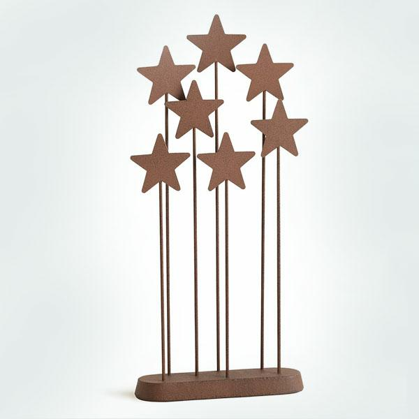 Metal Star Backdrop by Willow Tree