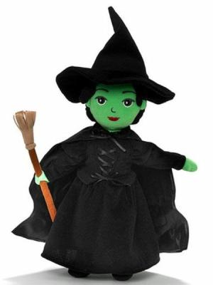 The Wizard of Oz Wicked Witch Washable 12'' Doll