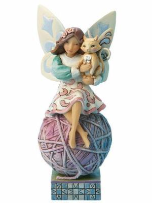 Cat Fairy Figurine