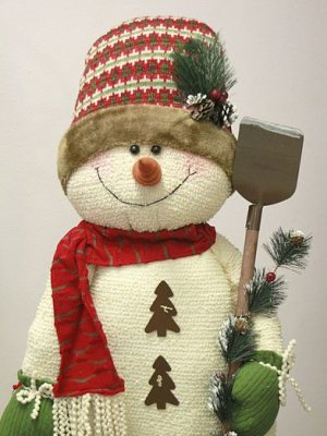 "45"" Yule Snowman"