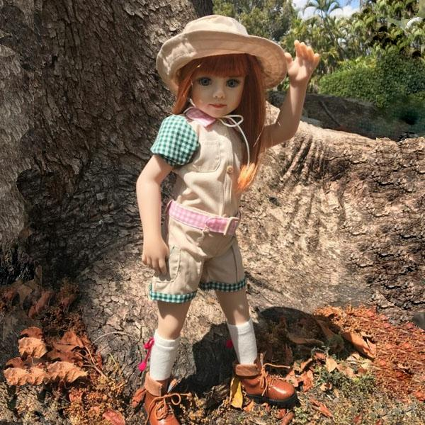 Savannah American doll