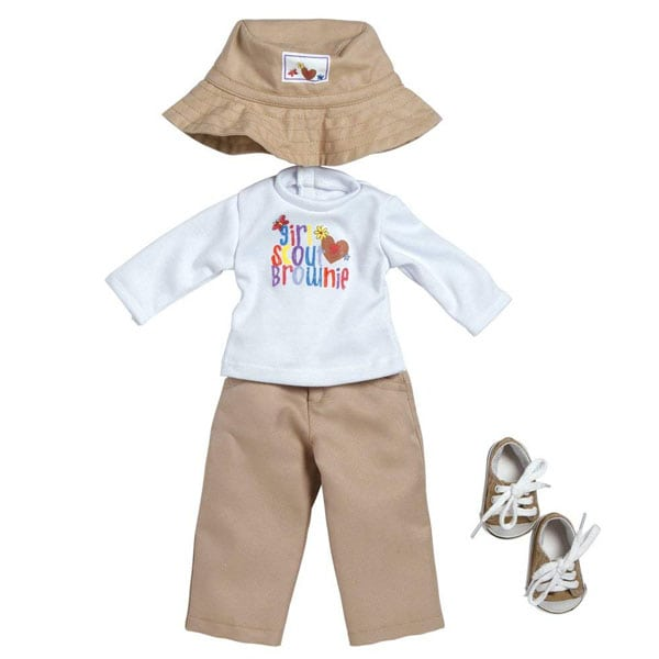Girl Scout Brownie Long Sleeve T-Shirt/Pant Set