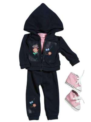 Girl Scout Daisy Hooded Jacket/Pant Set