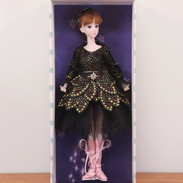 Petite Odile-Marie Black Swan Ballet Doll by My Ballerina Dolls