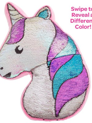 Flip-Out! Sequin Plush Play Unicorn