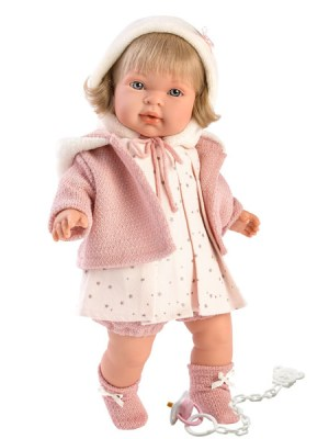 Soft Body Crying Baby Doll Brianna